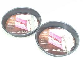 """Two Wilton 9"""" x 1 1/2"""" Ultra Bake Professional Round Cakes Pan NEW - $12.64"""