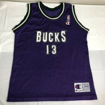 VTG Champion Jersey Milwaukee Bucks Glenn Robinson # 13 Boys L 14-16 NBA... - $27.00
