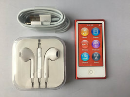 Apple Ipods Nano 7th Generation 16gb Red preowned - $189.00
