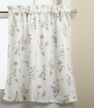 LORRAINE HOME FASHIONS English Garden 55-inch x 24-inch Tier Curtain Pai... - $14.00