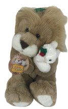 """Vintage Commonwealth The Lion And The Lamb 12"""" Plush 1994 Sitting - $19.79"""