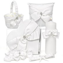 Sparkling Sash Collection-Heart guest book - $115.11