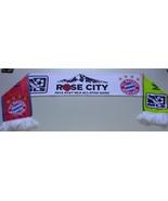 Adidas MLS Soccer Team Scarf Acrylic Rose Bowl ALL STARS vs BUYERN MUNCHEN - $15.00
