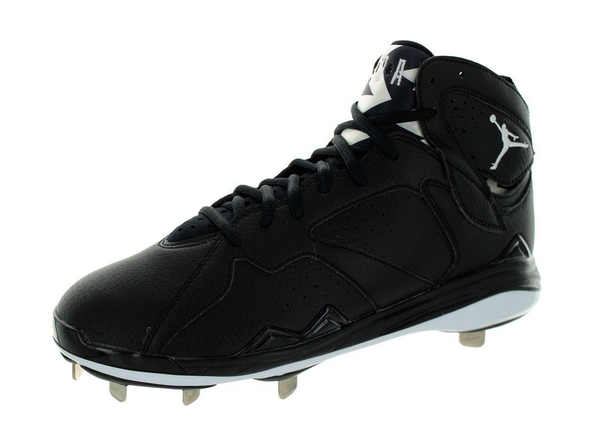 7683c50bed64 S l1600. S l1600. Previous. Nike Air Jordan 7 Retro Metal Baseball Cleats  Black White SZ 12 684943-010 nwob