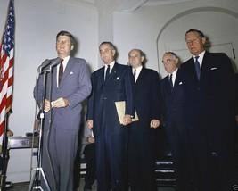 President John F. Kennedy speaks after LBJ returns from Germany New 8x10... - $8.81