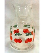 Anchor Hocking Oranges Small Juice Carafe With No Lid - $6.23