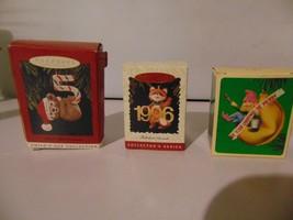 LOT OF Hallmark Keepsake Ornaments  - $44.55