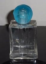VINTAGE BLUE GRASS BY ELIZABETH ARDEN PERFUME BOTTLE W GLASS STOPPER 4 1... - $49.00