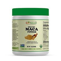Best Naturals Certified Organic Maca Root Powder 1 lb (454 Gram), Non-GMO Projec - $26.92