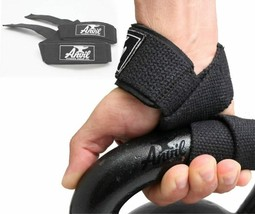 Anvil Fitness The Last Pair of Lifting Straps You'll Ever Need - Black  - $25.73
