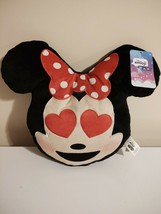 Disney Minnie Mouse Pillow Emoji 10 X 12 Ages 2 + - $6.93