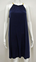 NWT MICHAEL KORS Real Navy Chain Link Goddess Dress M - $49.85