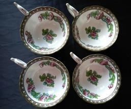 Antique Coalport Indian Tree Teacups Tea Cups x 4 Pre- 1920 Stamp - $37.84
