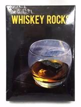 Whisky Chilling Stone Rocks Premium Pure Granite Set of 9 Black - $12.95