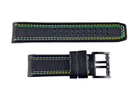 Luminox Tony Kanaan Valjoux 1188 26mm Black  Watch Band Strap 1181 1148 ... - $94.95