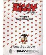 1 Vintage 1981 Paragon Needlecraft Ziggy Counted Cross Stitch Booklet VTG - $5.49