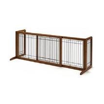 Baby Fence Pen Dog Pet Puppy Wood Freestanding Doorway Hallway Stair Scr... - $108.89+