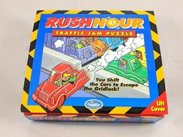 Rush Hour Traffic Jam Puzzle Game Christmas Toy Kids Gifts ThinkFun Original Box - $18.87