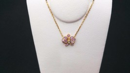 Cartier K18 2.6g 40cm necklace Caress Dorukide Pal pink gold - $2,100.17