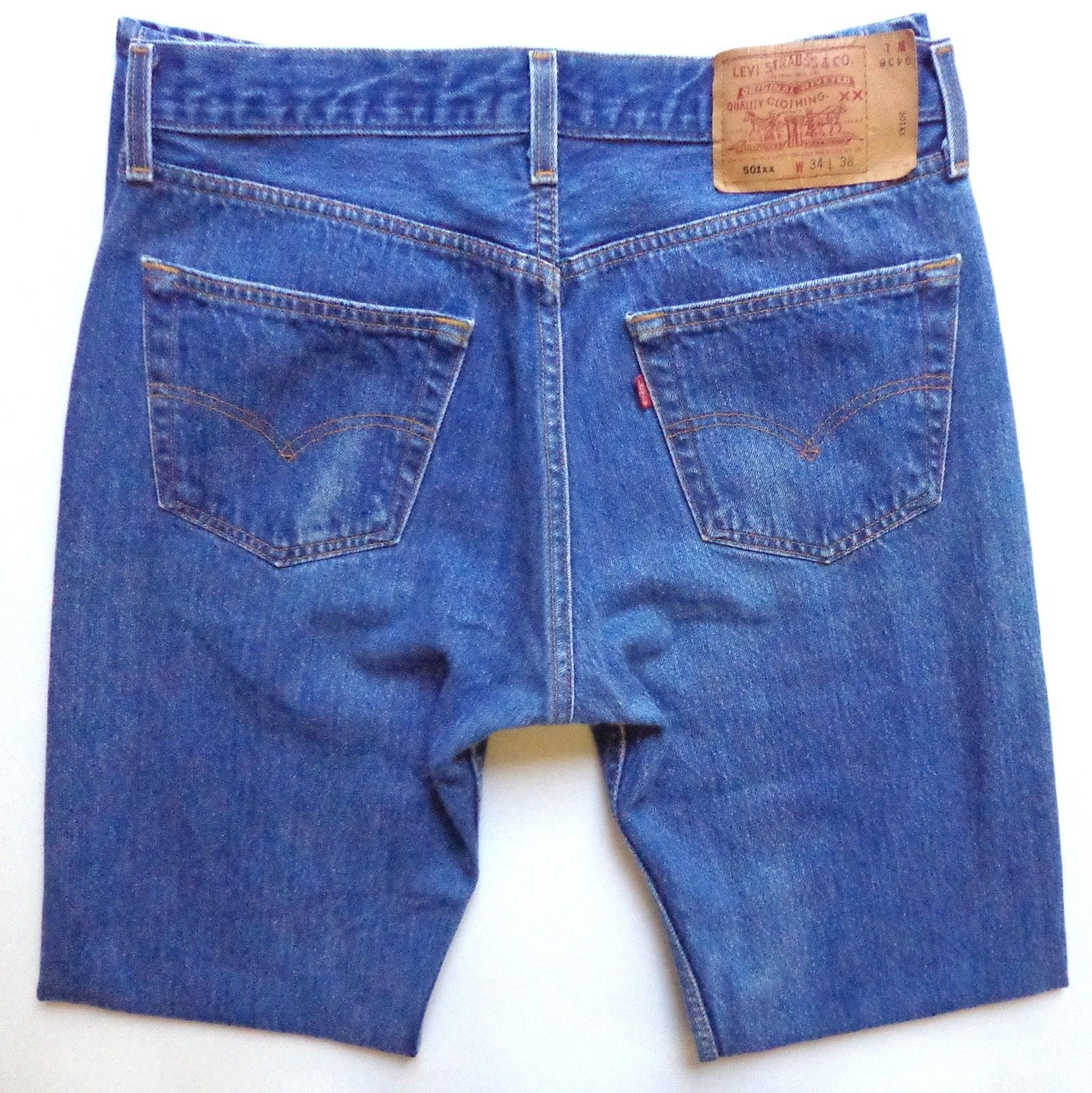 78b59998 Levis 501xx Button Fly Jeans Mens Size 32 x and 50 similar items. S l1600