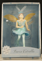 Hallmark Ornaments FAERIE ESTRELLA Fairy with Fiber Optic Glow New in Bo... - £10.67 GBP