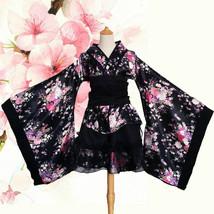 Japanese Sakura Kimono Yukata Lange Ärmel Lolita Mädchen Cosplay Kostüme... - $30.69