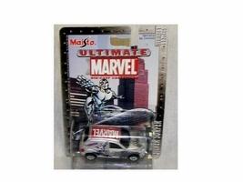 Maisto / Ultimate Marvel - Spider-Man / Chevrolet SSR / Blue - Series #1  - Die - $7.00