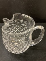 """waterford 6"""" Pitcher puckered Lip Excellent Condition - $72.57"""