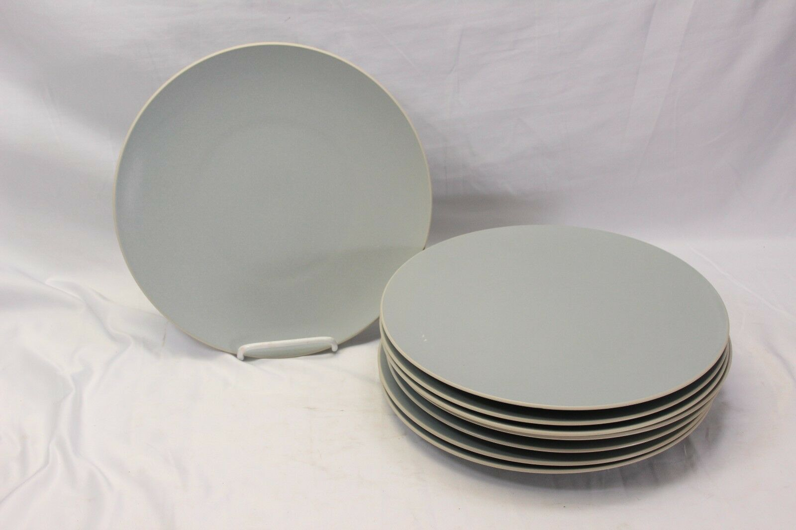 "Primary image for Vera Wang Naturals Wedgwood Dusk Dinner Plates 11"" Set of 8"