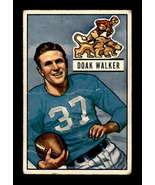 VINTAGE NFL 1951 Bowman #25 Doak Walker  F  - $15.98