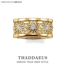 Band Ring  Sun, New Europe Style Glam Fashion Good Jewerly For Women,201... - $32.45