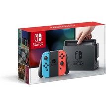 NEW Nintendo Switch Red & Blue Joy-Con Console Home Gaming System PLAY A... - $348.31