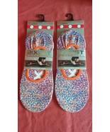2(X)IST Microfiber Mens Liner (2) pair sock Shoe Size 6-12 Sock Size - $9.56