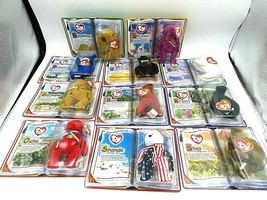 RARE McDonald's Ty Beanie Baby Set of 11 - International Bears - $2,475.00