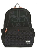 STATE Bags Star Wars Darth Vader Kane All Black 3CPO Bag Backpack R2D2 - $59.40