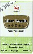 Lilium Teapills Bai He Gu Jin Wan - $13.59