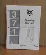 Bobcat 371 Skid Steer Loader Complete Shop Service Manual 6545574 - $32.20+