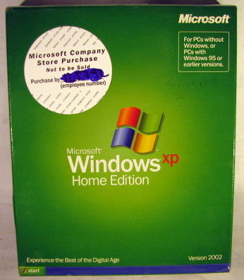 Microsoft Windows XP Home Edition 2002 New in Sealed Box