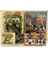 Vintage Ninja Turtle Toy Story Nintendo Game Boy Collection New in Box - $14.99