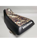 HONDA TRX350 Seat Cover 2000-2006 in 2-TONE Hornz Camo & Black or 25 COLORS (ST) - $37.95