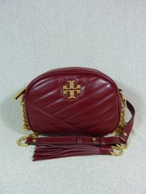 NWT Tory Burch Sangria Kira Chevron Small Camera Bag $358 - $334.62