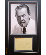 SIDNEY TOLER AS  (CHARLIE CHAN) ORIGINAL VINTAGE AUTOGRAPH MATTED (WOW) - $599.99