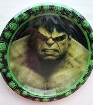 Gallmark The Incredible Hulk Party Plates Cake Birthday Supplies Green D... - $14.80