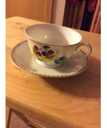 Merit Antique Tea Cup And Saucer, Made In Occupied Japan - $10.99