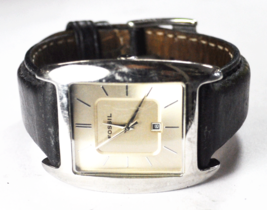 Fossil Quartz Date Stick Dial 34mm Stainless Wristwatch FS3041 Arkitekt ... - $29.69