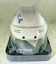 EVGENY KUZNETSOV / AUTOGRAPHED WASHINGTON CAPITALS MINI HOCKEY HELMET / COA image 8