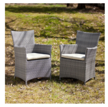 Harlow Outdoor Easy Chairs 2-Piece Set - $386.10
