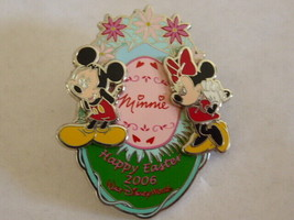 Disney Trading Pins 45750 WDW - Happy Easter 2006 (Mickey & Minnie Mouse) - $9.46