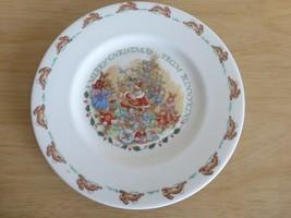 "Royal Doulton A Merry Christmas Bunnykins Plate 8""D - $19.79"