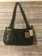 Liz Claiborne Leather Purse Brown At Ease Group Nwt - $19.27